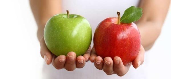 Полезна диета с ябълки