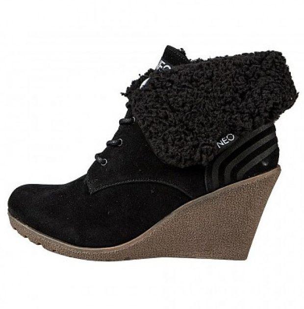 Обувки на платформи или с висок ток