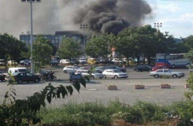 Взрив на летището в Бургас