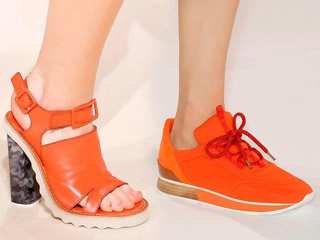 Обувки в края на лятото