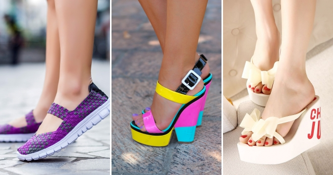 Обувки за лятото