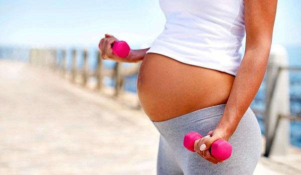 Упражнения при бременност