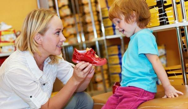 Как да изберем обувки на детето?