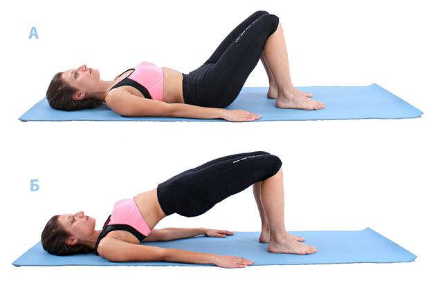 Оформяне и стягане на гърдите с упражнения в къщи
