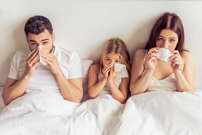 Първа помощ при настинка