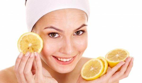 Домашен пилинг на лице с лимон