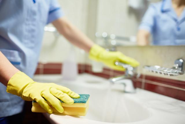 Почистване на кухнята с оцет