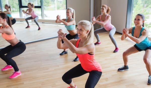 Упражнения за отслабване - клякане