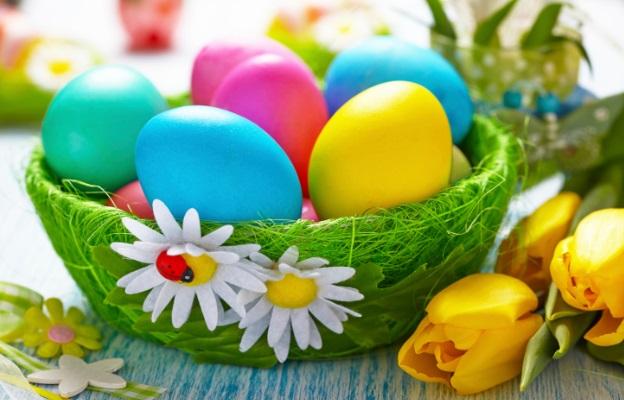 Боядисване на яйца с коприна